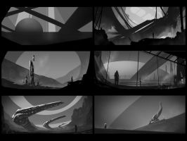 Environment sketches 6 by pav327