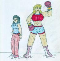 Super OC - Jenny Smith aka Puncher by Jose-Ramiro