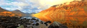 Sunset Glow Wastwater by Capturing-the-Light