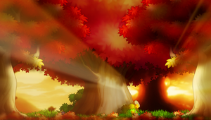 [Bannedstory BG] Under the Maple Trees by BUNNYBOOFART