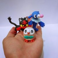 Pokemon Sun Pokemon Moon Rowlet Litten Popplio