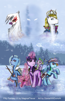 .:Filly Fantasy VI Cover:. by MagicaITrevor