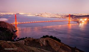 Golden Gate Bridge. by sergey1984