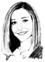 alyson hannigan by sagarpuro