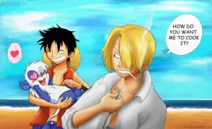 Love for Luffy by StePandy