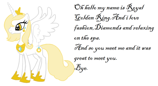 Royal Golden Ring. by pucasia