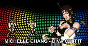 Michelle Chang - DIVA - TTT2  Mod (DOWNLOAD XPS) by Changinformatica