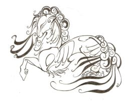Kirin Tattoo Design by LyrebirdJacki