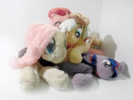 Plush Ponies All Together by nicolaykoriagin