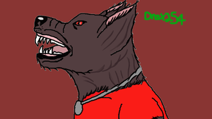 RED Werewolf Scout Yet Again by Drax254