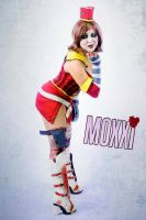 Moon Moxxi Cosplay by platypa