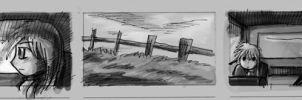 storyboard for horror film 01 by yen-wen-hsieh