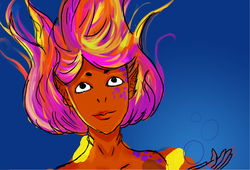 Octogirl preview by MermaidSoupButtons