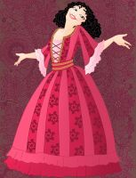 Historic Mother Gothel by Willemijn1991