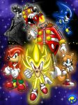 Super Sonic HQ Characters by rogferraz