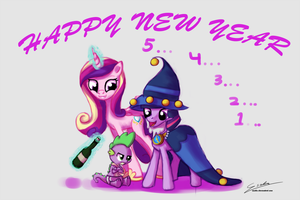 Happy New Year 2013 by Esuka