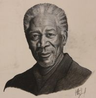 Morgan Freeman by Jkim34
