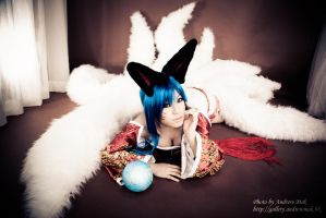 League of Legends - Ahri by PipiChu0226