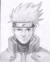 Maskless Kakashi by Shiroichi-chan