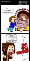 Supernatural 10x12 Rejected Scene by KamiDiox