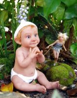 Peter Pan - Tinkerbell DOLLS by pixiwillow
