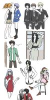 Fruits Basket / genderswap dump by agenttiorava