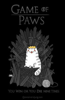 Game of Paws by annamariajung