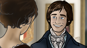 Mr Darcy Smiles by themollyb