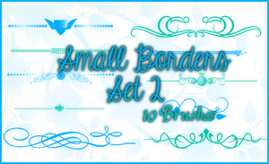 Small Borders Set 2 by Illyera