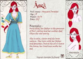 Character sheet - Asra by Eimiel