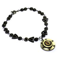Steampunk Porthole eye Necklace by CatherinetteRings