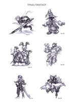 Final Fantasy by WEAPONIX