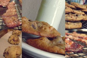 Candied Bacon Cookies by Afina79