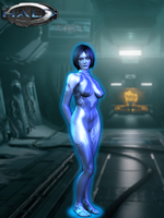 Cortana Model - Halo 4 by LoneCarbineer