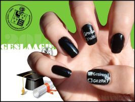 Exams Nails by Ninails
