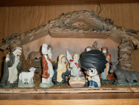 L in the Nativity by coffeeatthecafe
