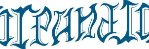 ambigram fire and ice by matt-torch