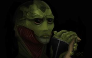 Thane Krios by SP-hera
