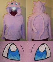 Mew Pokemon hoodie cosplay by Bahzi