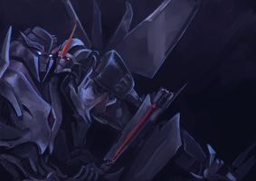 Starscream and Megatronus by Jit-Seven