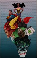 DC Comics by sterlingvisions