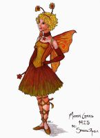Fairy for Mardi Gras by PlaidTidings