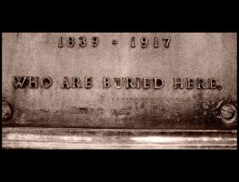 """Who Are Buried Here"" by KidThink"
