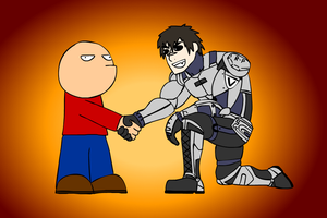 MANLY HANDSHAKE by Zoolon