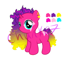 Jem Inspired Pony Adoptable Auction - Open by chunk07x