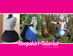Hoopskirt for Cosplay tutorial by speckles-cosplay