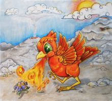 Phoenix Fire UP by LimpingGnome