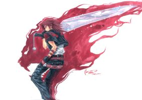 Kingdom Hearts: Leon The Lion Heart by Nick-Ian