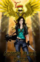 Action Flick Chick by Flocco