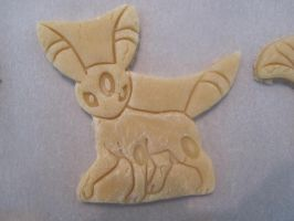 Umbreon Cookie Dough Cut by B2Squared